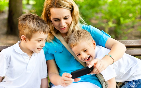 Mom and kids - Pediatric Dentist in Fredericksburg, VA